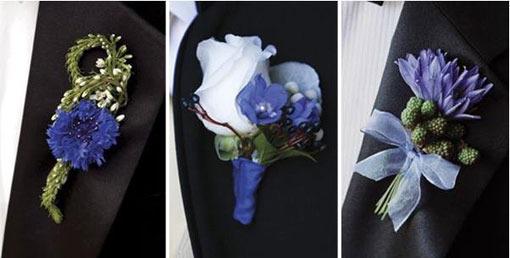 Как называется цветок у жениха на костюме